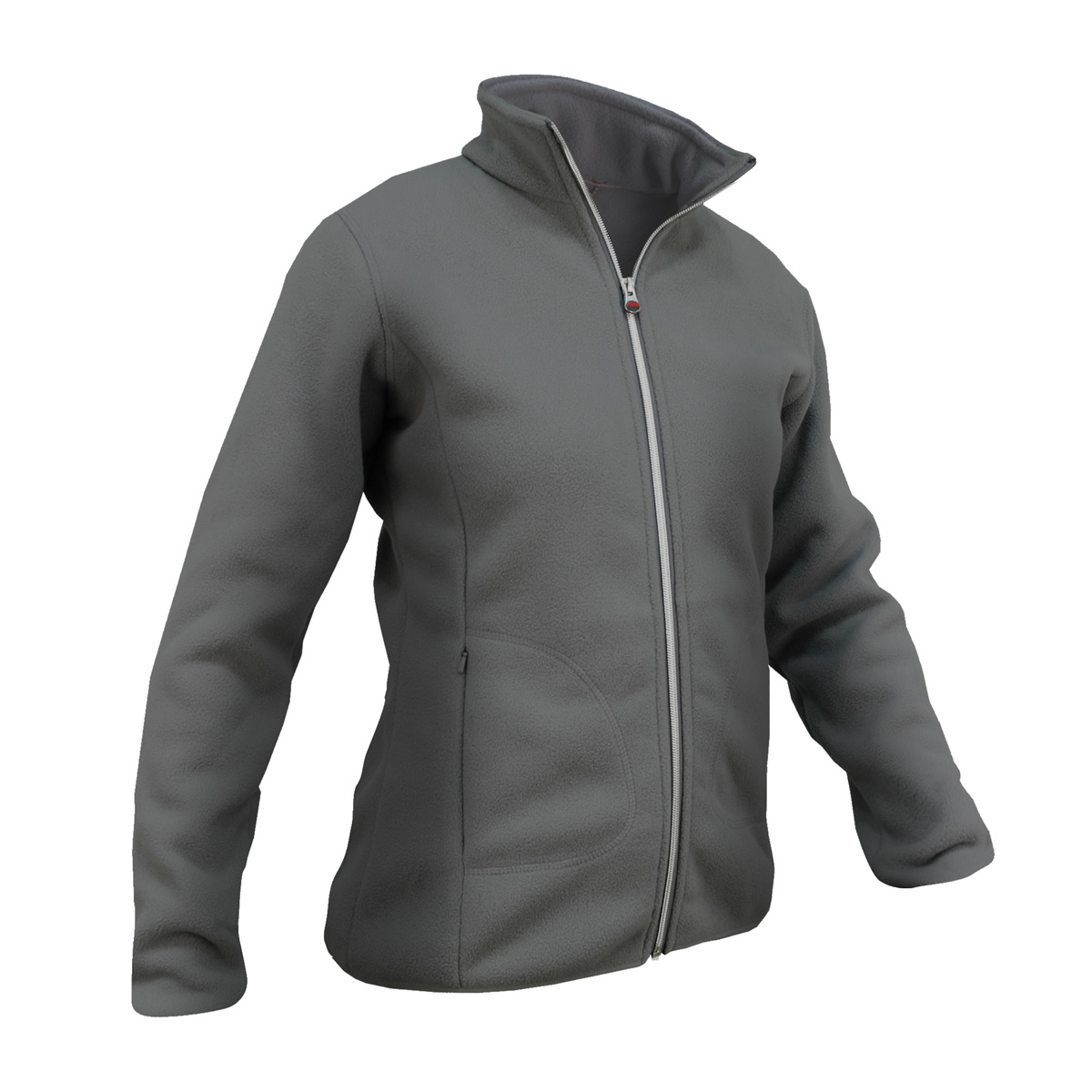 Bay Hill Fleece - woman - steel